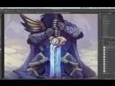 [Trent Kaniuga] Artist Paintover - Featuring BinOfTrash : The Fallen Knight