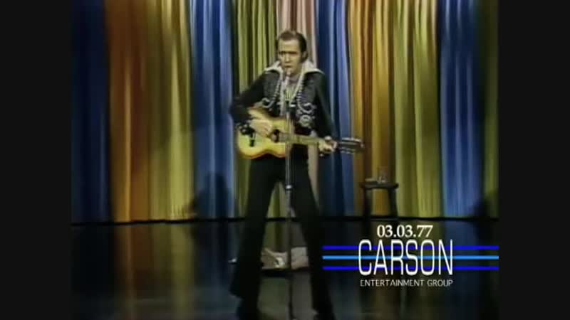 Andy Kaufman Impersonates Elvis Presley and Foreign Man on Johnny Carsons Tonig