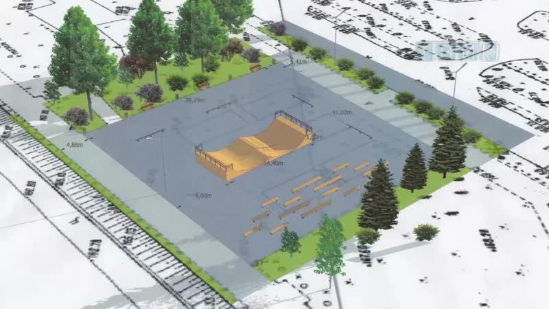 В этом году на набережной появится скейтпарк