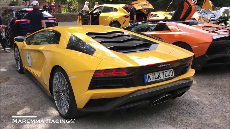 Lamborghini Italian Tour July 2018   Tuscany