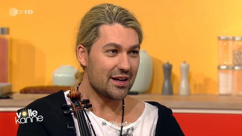 David Garrett - Guest at Volle Kanne - ZDF 10.12.2018