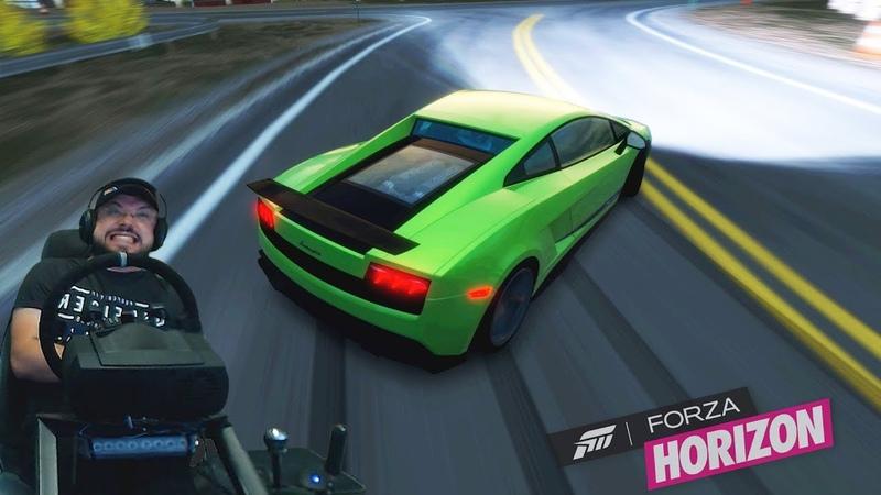 Ламбо НАГИБАТОР Forza Horizon на Xbox One X
