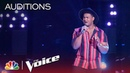 DeAndre Nico Gets Four Turns with Bruno Mars' When I Was Your Man - The Voice 2018 Blind Auditions