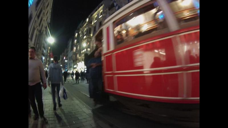 Taksim Istiklal street