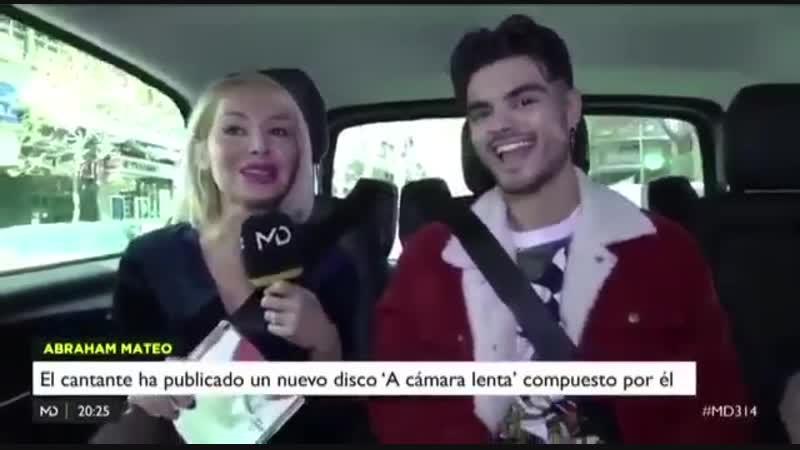 Abraham Mateo en Madrid Directo con Déborah Serendipity