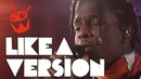 A$AP Rocky covers Otis Redding ' Sittin' On The Dock Of The Bay' for Like A Version