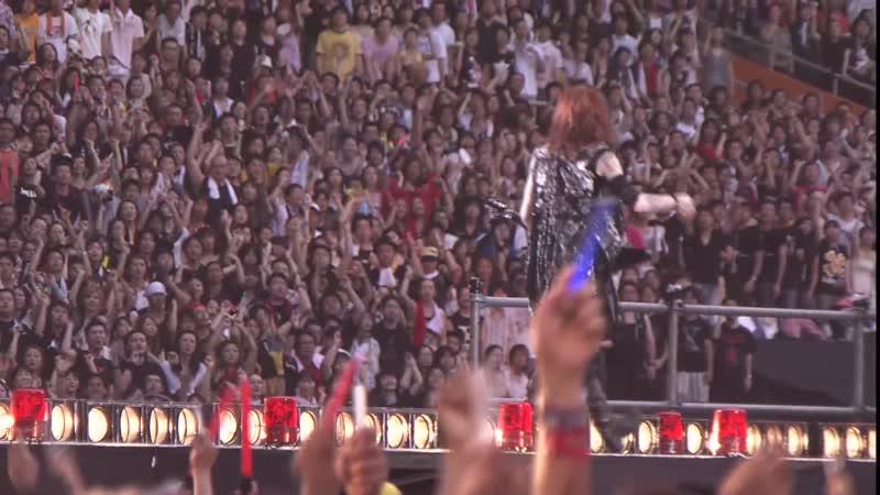 [20100815] Rusty Nail (HD) - X JAPAN WORLD TOUR Live in YOKOHAMA