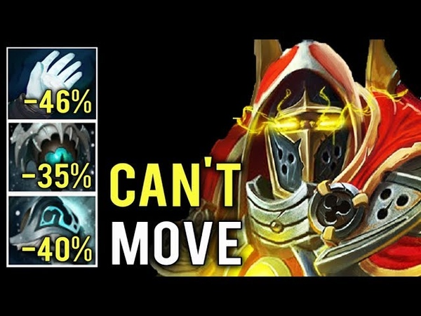 OMG CAN'T MOVE -90% Slow Build New 7.21 Skadi Omniknight Annoying Hero by Loafer Epic Game Dota 2