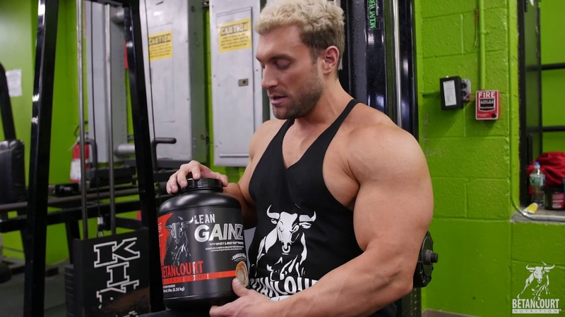 Betancourt Nutrition's Lean Gainz weight gainer/meal replacement