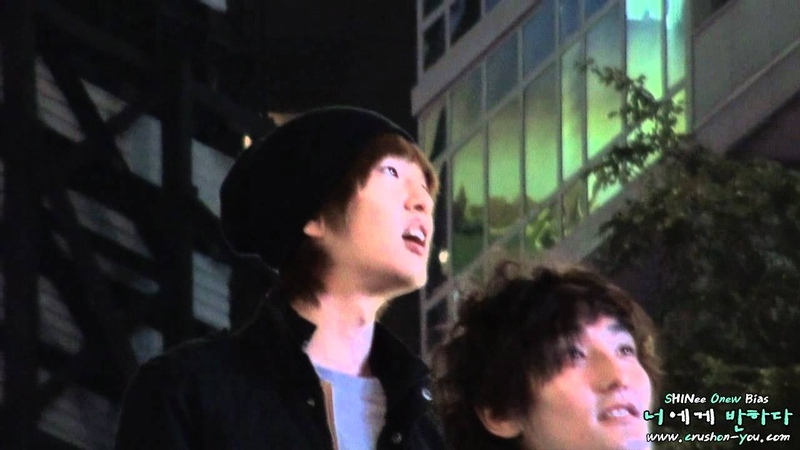 111022 SHINee ONEW in NYC - Part 1