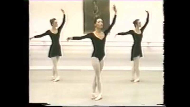 Battement tendu and battement jete center 2 class Classical dance