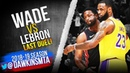 LeBron James vs Dwyane Wade LAST DUEL! Wade With 15, 10 Asts, Bron With 28-12! | FreeDawkins