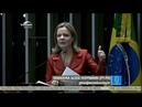 Gleisi, fala em plenário sobre manifesto a frente parlamentar!
