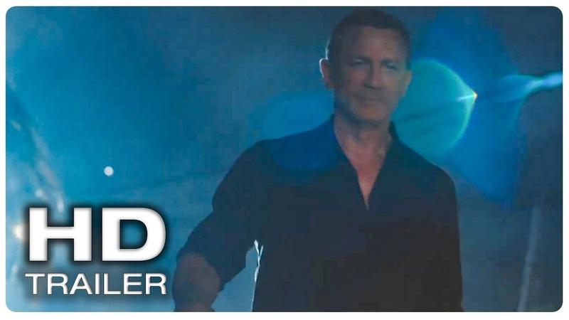 JAMES BOND 25 Teaser Trailer 1 Official (NEW 2020) Daniel Craig, Rami Malek Action Movie HD