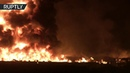 Moment of fatal pipeline explosion in Mexico WARNING DISTURBING