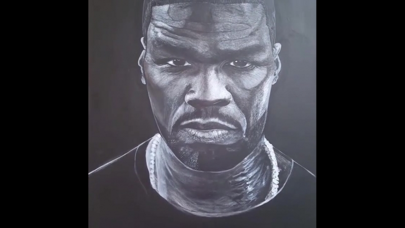 Drawing art 50 Cent