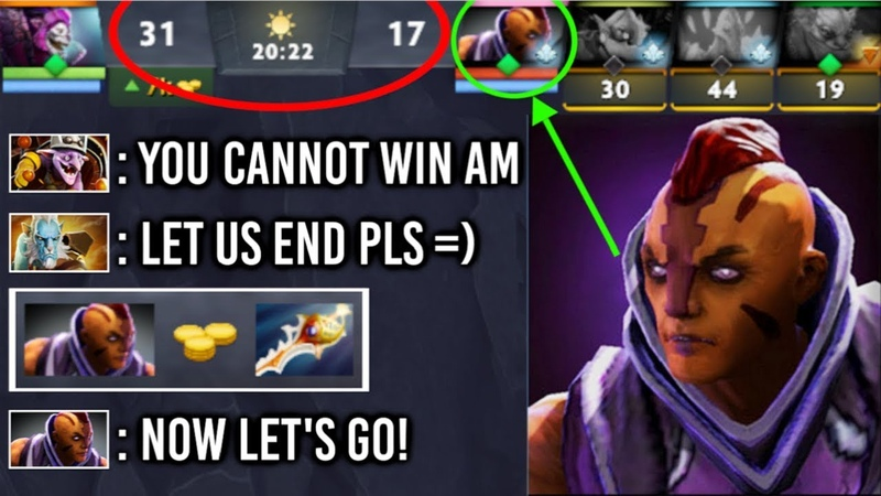 They Started to Dominate And Thought its Over But, Divine Rapier Anti-Mage Epic Comeback 7.20 Dota 2