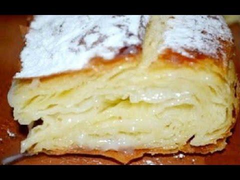 Фытыр.Египетский пирог с кремом/Pie Recipe, English Subtitles/Супер вкусный пирог с заварным кремом.