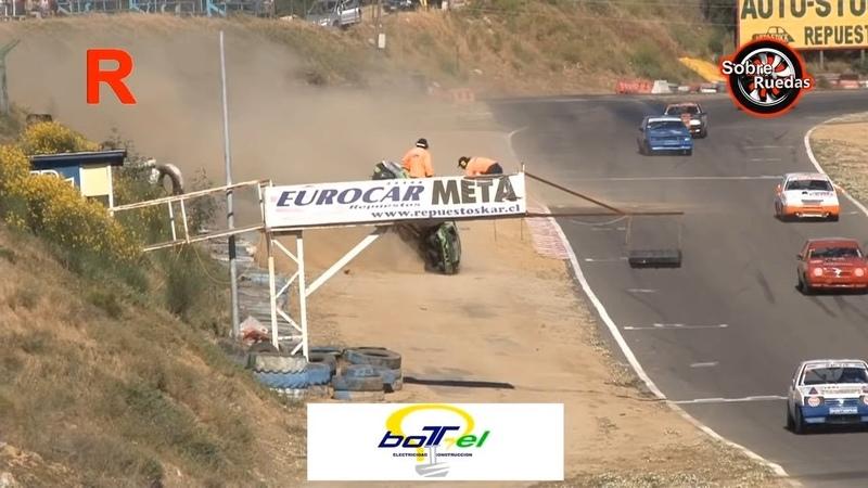 Lada Samara 2018 Final 2 Autódromo Villa Olímpica de Quilpué 12 Big Crash