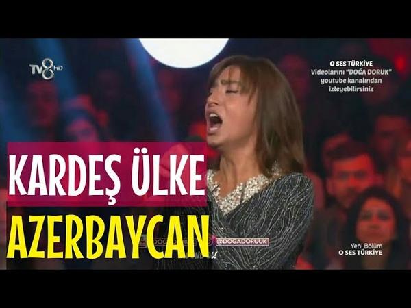 Yıldız Tilbe Azeri Şarkısı söyledi | O Ses Türkiye