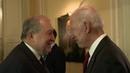 Президент Армении встретился с бывшим вице президентом США Джо Байденом