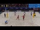 2018 FIVB Ostrava Open Fijalek/Bryl (POL) vs Krasilnikov/Liamin (RUS)