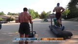 SOMEONE SAY UPHILL SLED SPRINTS