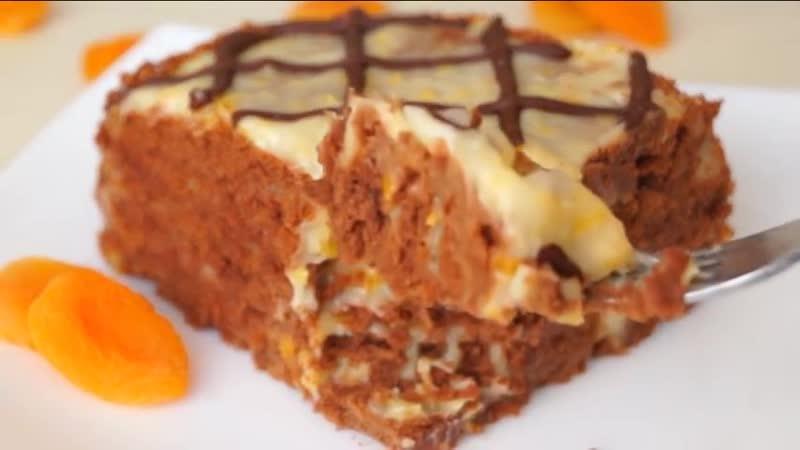 БЕЗ ВЫПЕЧКИ Обалденный Торт на СКОРУЮ Руку Очень Вкусно