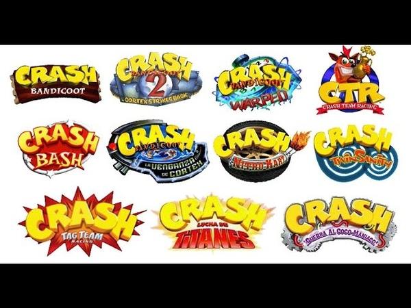 11 juegos de Crash Bandicoot