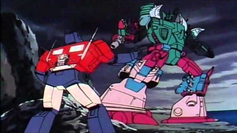 ~Transformers Masterforce - Super Optimus Prime vs. King Poseidon (Fan Dub)~