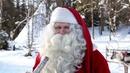 Interview mit dem Weihnachtsmann in Lappland Finnland - Video für Kinder