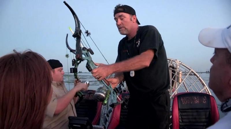 Bowfishing in Venice Lousiana