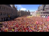 Belgium celebrates 3rd place with some Techno!