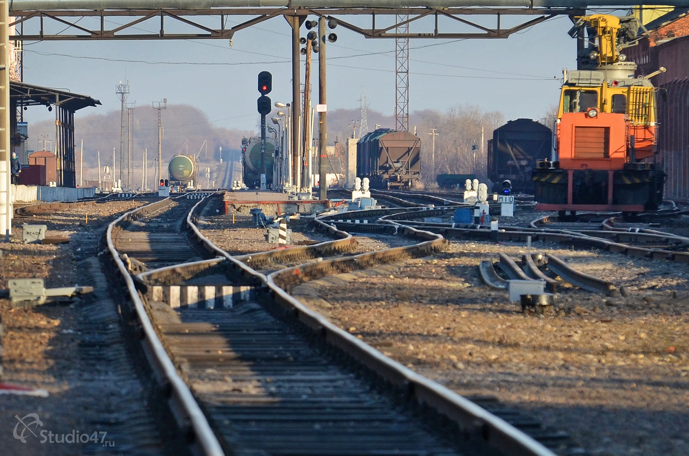 Железнодорожный вокзал в Борисоглебске