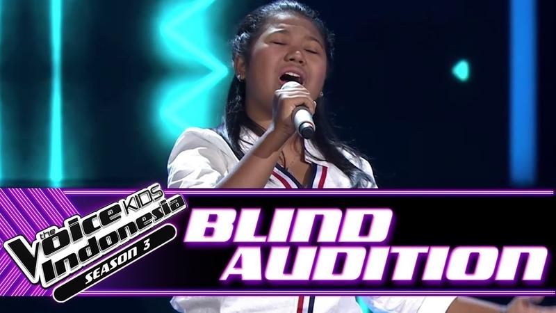 Nanda - Jatuh Hati | Blind Auditions | The Voice Kids Indonesia Season 3 GTV 2018