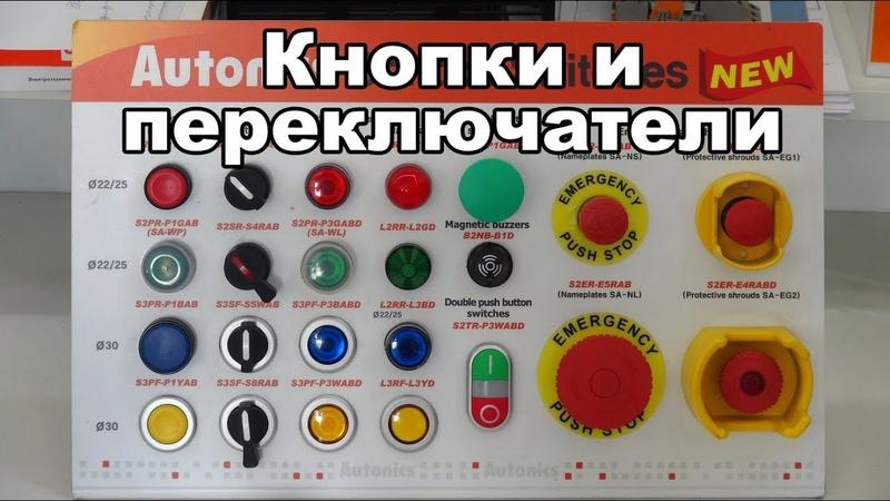 Кнопки и переключатели производства Autonics (краткий обзор от Амитрон ЭК)