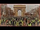 Paris Krieg oder Revolution der gelben Westen