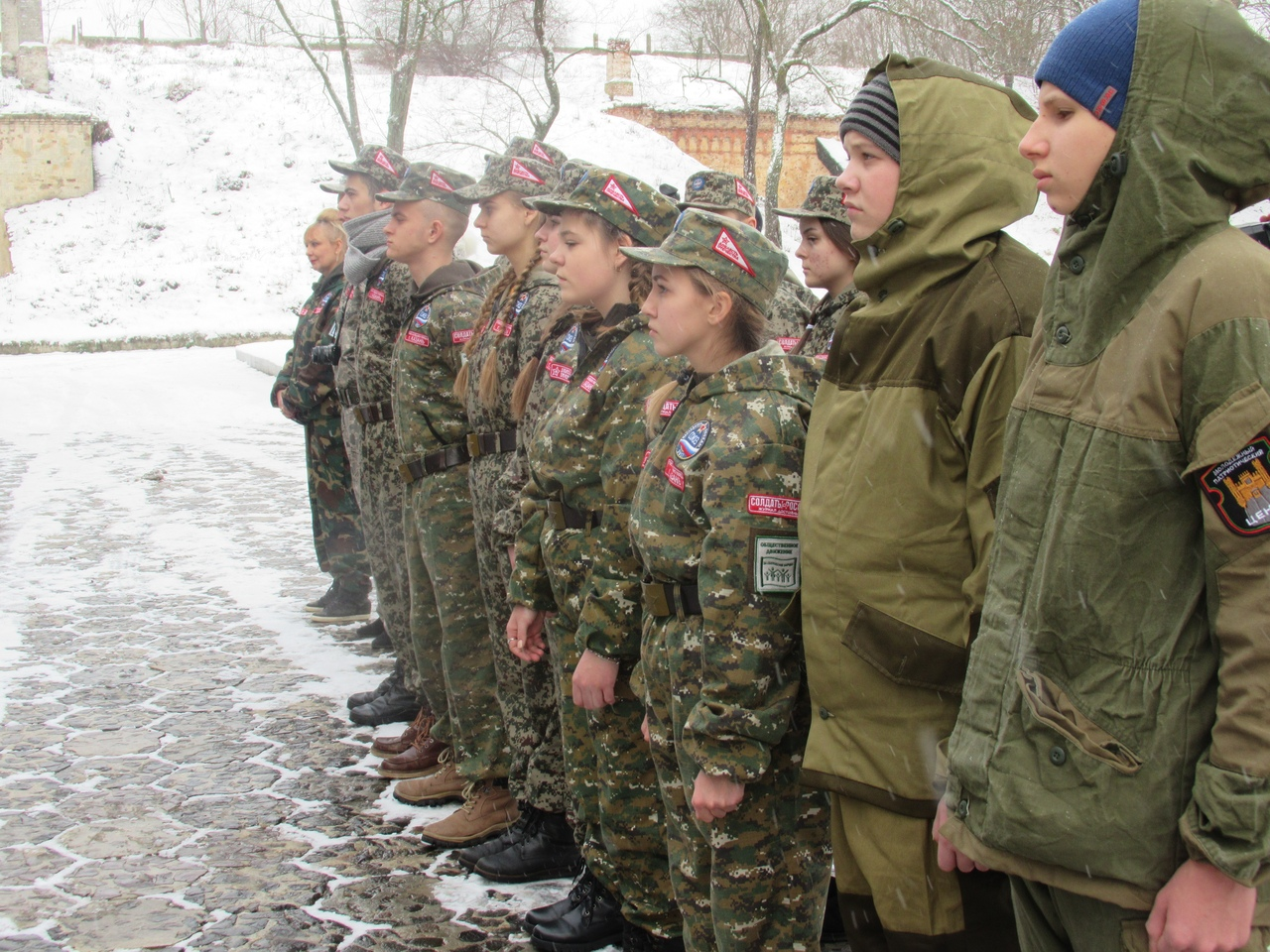 """В молодежном патриотическом центре начал свою работу лагерь """"Хранители"""""""