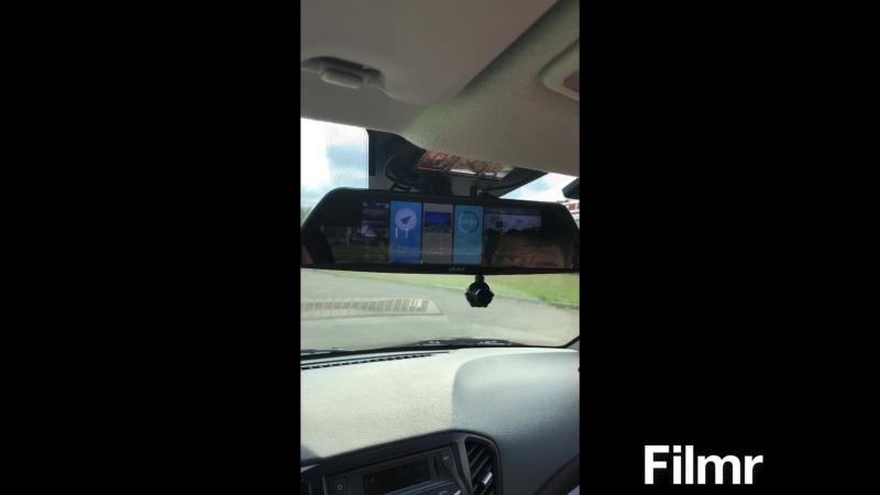 Автомобильный видеорегистратор с Android Navitel и 3 мя камерами 8 Eplutus D83