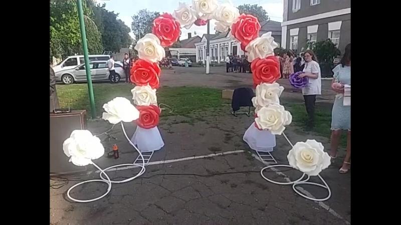 Фотозона на выпускной, свадьбу, юбилей.