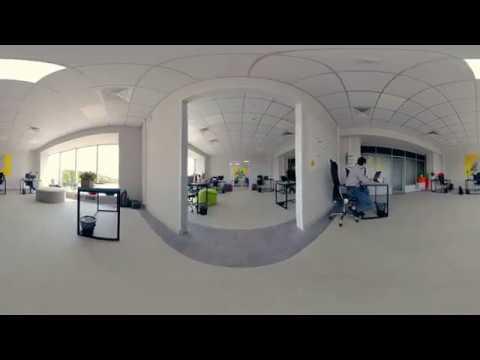 Демо ролик по офису 4K 360°