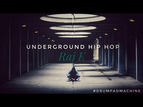(Hip Hop Beat) Underground Hip Hop by Phenom | Raj E Cover (Drum Pad Machine)