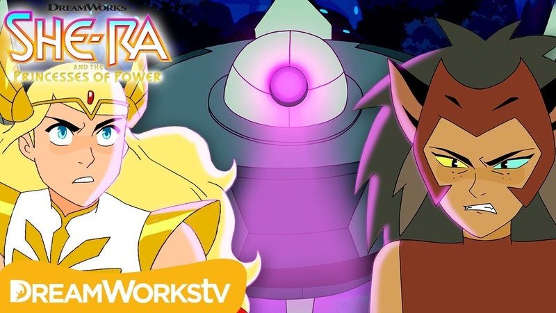 Catra Sends Horde Bots to Attack the Princesses | SHE-RA AND THE PRINCESSES OF POWER