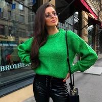 83ea7b9ec4e Мягкий свитер крупной вязки с объемными манжетами TOP20 Studio
