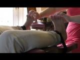 Amature-Untitled-Bare Feet Tickled-POV-