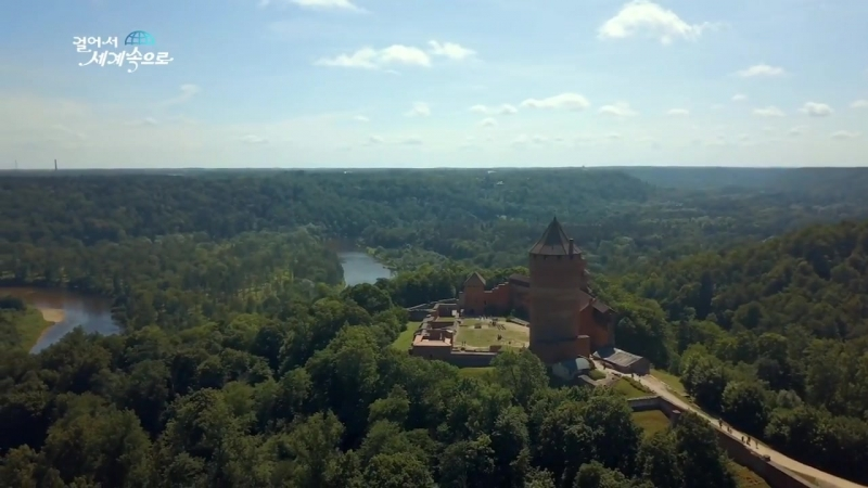 【K】Latvia Travel-Sigulda Turaida Castle_Garden_God