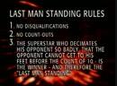 Kane Vs Shane McMahon Last Man Standing Match Unforgiven 2003