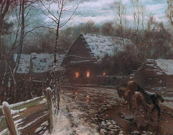 Дубовской Николай Никанорович (17 декабря 1859--1918) крупный живописец-пейзажист, один из руководителей Товарищества передвижных художественных выставок. Учился в кадетском корпусе в Киеве. В