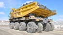 Fast Extreme Mini Bulldozer At Work World's Largest Mining Dump Truck