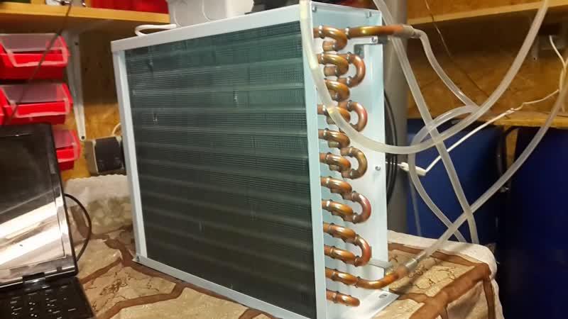Автономное охлаждение для ректификационной колонны.